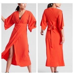 🌈 HP 🌈 NWT Athleta Calistoga Wrap Dress XS S M L